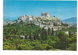 Athens View Of The Acropolis Athène Vue De L'Acropole - Grèce