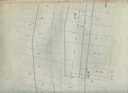 PLAN CANAL DE LA MARNE AU RHIN NEUVILLE SUR ORNAIN 1933 - Europe