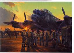 WW2 - Final Briefing - The Dambusters Raid - Lancasters Du 617 Squadron RAF - 16 Mai 1943 - 1939-45