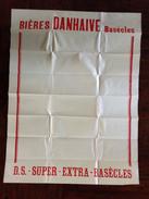 PAD. 1. Ancienne Affiche De La Brasserie Danhaive A Basècles - Posters