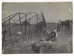 MANFRED VON RICHTHOFEN 20/11/1916 PHOTO ORIGINALE DE SA 9ème VICTOIRE PREMIERE GUERRE /FREE SHIPPING REGISTERED - Aviation