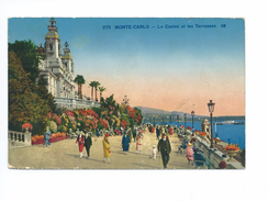 Monte-Carlo Le Casino Et Les Terrasses 1930 - Monte-Carlo