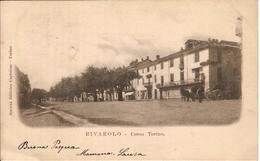 (C).Rivarolo Canavese(TO).Corso Torino.F.to Piccolo.Viaggiata (c17) - Andere Steden