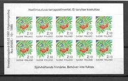 1991 MNH  Booklet, Finland 1129, Postfris**