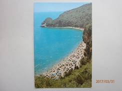 Postcard Budva Plaza Mogren Montenegro  My Ref B11007 - Montenegro