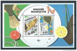 Danemark 2016 Bloc Neuf Cuisine Danoise