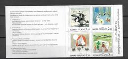 1992 MNH  Booklet, Finland MH 31, Postfris**