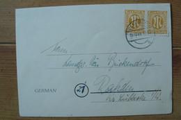 Allemagne Bizone - Yv N° 5 X2 Oblitéré Du 13/10/1945 De Osnabrück - Bizone