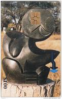 ZIMBABWE - Sculpture 2, Chip GEM3.3, Tirage %70000, Used - Zimbabwe