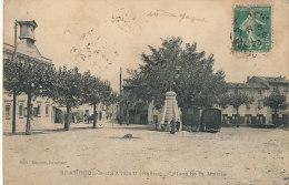 69 // SAINT ANDEOL LE CHATEAU   Place De La Mairie  / Roulotte Romanichels - France