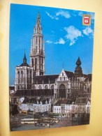 TRAIN 9283 - ANTWERPEN/ANVERS O.L.VR. KATHEDRAAL/CATHEDRALE DE NOTRE DAME/THE CATHEDRAL OF OUR LADY/DOM UNS... (TRAMWAY) - Tramways