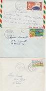 Abala 1966 - Jacob 1968 - Makabana 1965 - 3 Lettres Congo - Congo - Brazzaville
