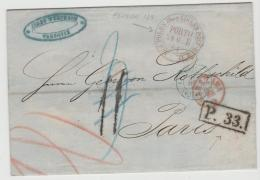 Pol094 / Aus POLEN  über Eisenbahnpost-Büro XI - ....-1919 Übergangsregierung