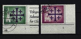 BERLIN - Mi-Nr. 215 - 216 Mit Formnummer Gestempelt - Gebraucht