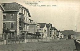 FUENTERRABIA. HOTELES EN EL BARRIO DE LA MARINA. HAUSER Y MENET 1805 - Guipúzcoa (San Sebastián)