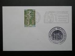 1886  Bourbon L'Archambault  1976  Bonnet Tronçais - Marcophilie (Lettres)