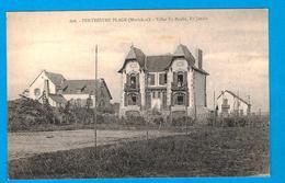 CPA -VILLAS P TY PAULIC, TY JANNIC  à PENTHIEVRE PLAGE ( Morbian) - Vannes
