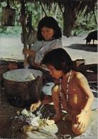 India Jibaro Con Su Hijo -  Belle Cpa NEUVE * Ed JSwiss Photo    (voir Scan) - Pérou
