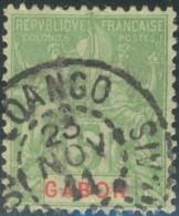 Gabon 1886-1907 - Oblitération De Loango / Congo Français Sur N° 19 (YT) N° 19 (AM). - Gebraucht