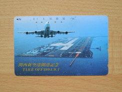 Japon Japan Phonecard - Aircraft - 110-011 - Used, Gebraucht - Avions