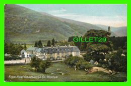 WICKLOW, IRELANDE - ROYAL HOTEL GLENDALOUGH CO - TRAVEL IN 1908 - LAWRENCE, PUBLISHER - - Wicklow