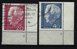 BERLIN - Mi-Nr. 234 - 235 Mit Formnummer Gestempelt (2) - Gebraucht
