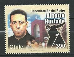 Chile 2005 Canonization Of Father Alberto Hurtado Cruchaga. Chilean Jesuit Priest, Lawyer, Social Worker And Writer.MNH - Cile