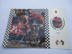 CPSM CYCLISME - TOUR - VELO -  SERIE CICLISMO : LUIS OCANAE ESPANA - Cycling