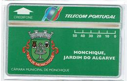 PHONECARDS-- PORTUGAL-- PORTUGAL TELECOM- OPTICAL- 50 U  MONCHIQUE- JARDIM DO ALGARVE-- MINT---..- BATCH  402A - Portugal