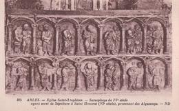 ARLES - Cloitre Saint Trophime - Sarcophage Du IVe Siecle - Arles