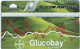PHONECARDS-- PORTUGAL-- TELECOM-PORTUGAL- OPTICAL- 10 U  GLUCOBAY---..- BATCH  211A - Portugal