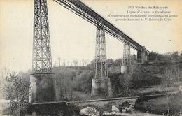 Viaduc Du Ribeyrès, Ligne D'Armant à Capdenac - Vallée De La Cère - Edition P. Et A. Malroux, Carte Non Circulée - Ouvrages D'Art