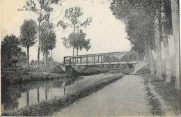 Lieu à Identifier: Canal Et Pont De Chemin De Fer (Ardennes?) En 1925 - Edition Charpentier - Te Identificeren