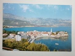 Postcard Budva Montenegro  My Ref B11012 - Montenegro