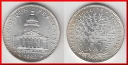 QUALITE **** 100 FRANCS 1982 PANTHEON - ARGENT - SILVER **** EN ACHAT IMMEDIAT !!! - N. 100 Francs