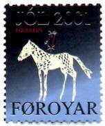 FEROE  Cinderella MNH** Fauna Pferde Pferd Cheval Chevaux Horse Horses Caballos Paarden Paard Astrology Horoscope - Astrologia
