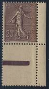 FRANCE   N°     131 - 1903-60 Semeuse Lignée