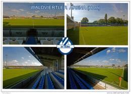 AK Stadion Postkarte Waldviertler Arena SV Horn Niederösterreich Fußball Österreich Austria Football Stadium Ground Foot - Fussball