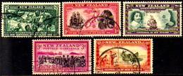 12481 Nova Zelândia 243/44 + 246 + 248 + 254 Diversos U - 1907-1947 Dominion