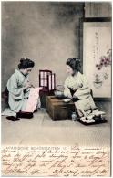 JAPON - Japanische Schönheiten    (Recto/Verso) - Otros