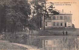 94 - Villiers-sur-Marne - Le Château - L'Etang - Villiers Sur Marne