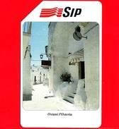 ITALIA - Scheda Telefonica - SIP - Usata - Turismo - Ostuni L´Osteria - C&C 2240 - Golden 183 - Pubbliche Speciali O Commemorative