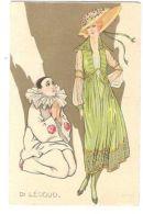 DI LEODUD - PIERROT & LADY IN GREEN - N. 117 - 1910s  ( 174 ) - Illustrateurs & Photographes