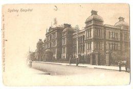 AUSTRALIA - SYDNEY HOSPITAL - PHOTO BY WARD & FARRAN - 1900s ( 1311 ) - Postcards