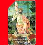 ITALIA - Scheda Telefonica - SIP - Usata - Pasqua 1992 - Piero Della Francesca - C&C 2252 - Golden 195 - Italia