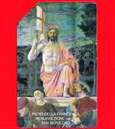 ITALIA - Scheda Telefonica - SIP - Usata - Pasqua 1992 - Piero Della Francesca - C&C 2253 - Golden 196 - Italia