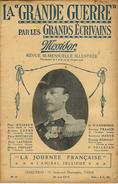 N°10-1915-REVUE MESSIDOR -LA GRANDE GUERRE PAR LES ÉCRIVAINS-l'amiral Jellicoe-voir Liste écrivains - Books, Magazines, Comics