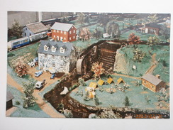 Postcard Scouts By The Old Mill Stream Traintown USA Choo Choo Barn My Ref B11022 - Scouting