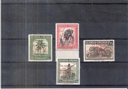 Ruanda-Urundi 150/53 - XX/MNH - Série Complète - 1924-44: Neufs