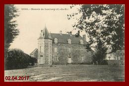 Théme Chateau  * LANLOUP * Le Manoir   ( Scan Recto Et Verso ) - France